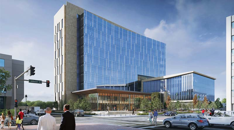 Construction Forges Ahead on $215M Illinois Courthouse