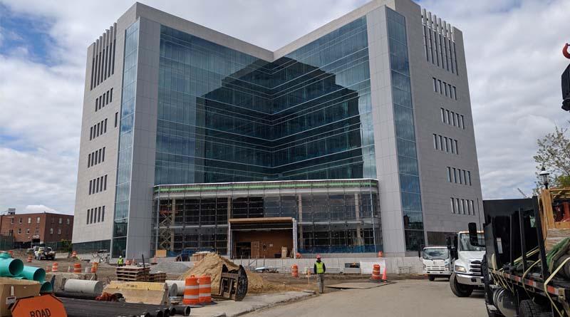 Massachusetts Justice Center Remains Under Construction