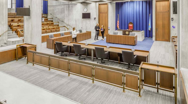 Boston's City Hall Council Chamber Renovation Receives Honor