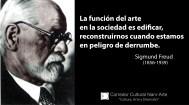 La función del arte freud