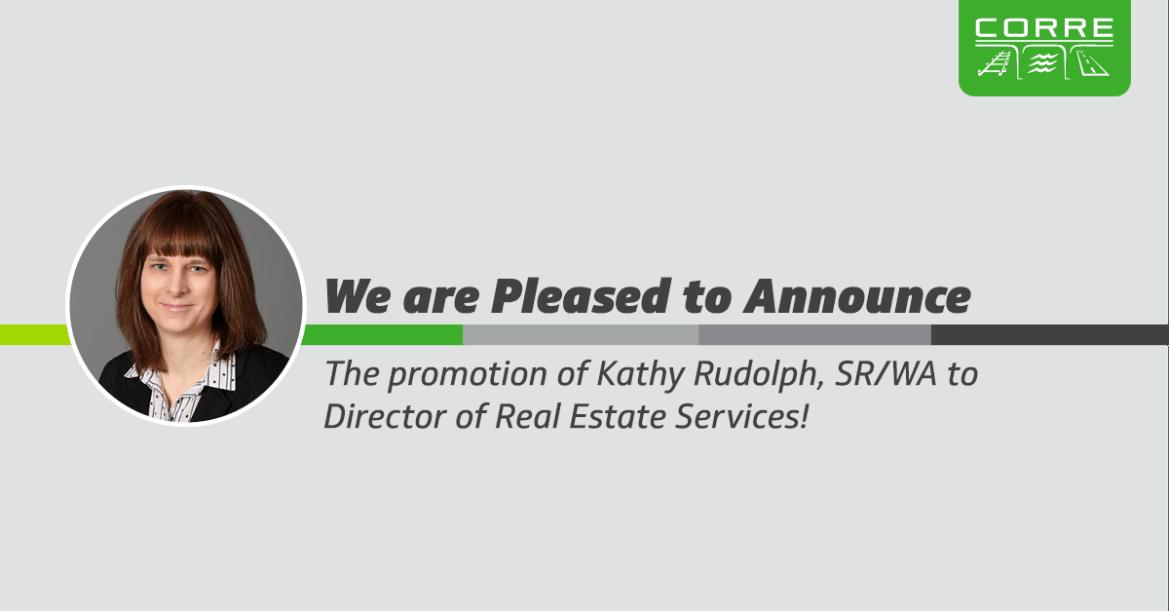 Rudolph Promotion Announcement