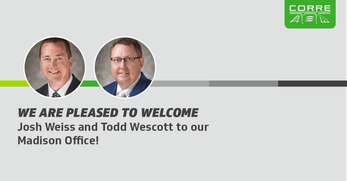 Weiss and Wescott Welcome