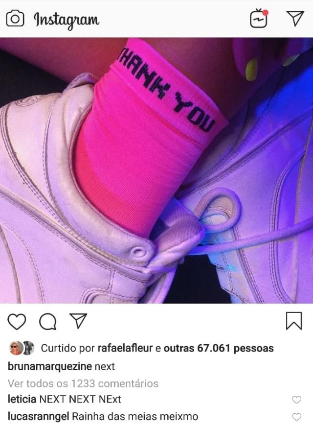 Bruna Marquezine deleta Instagram após Anitta postar foto com Neymar 3