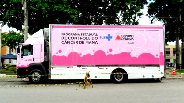 Paracatu receberá atendimento móvel e realizará exames mamográficos