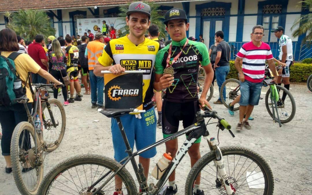 Jovem de Vazante conquista primeira colocação em campeonato de Mountain Bike