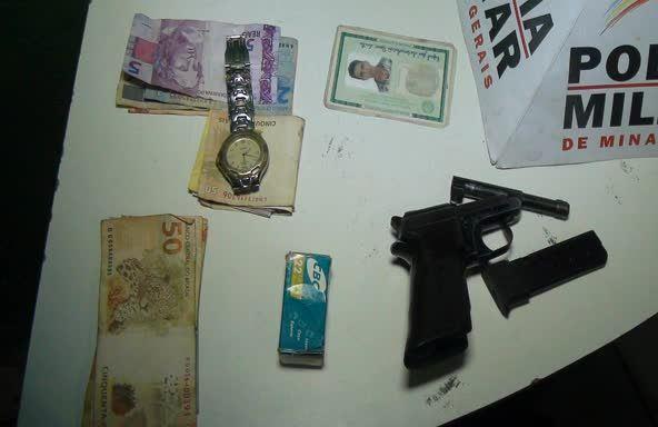 Jovens envolvidos com assalto a posto de combustível são presos em Patos de Minas