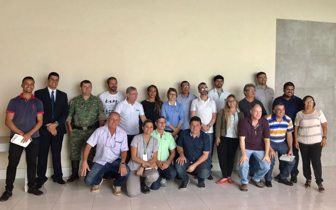 Conselho Consultivo da Unidade de Conservação MONAE LAPA NOVA DE VAZANTE toma posse