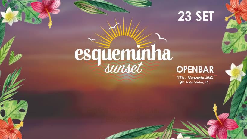 Esqueminha Sunset será neste sábado, 23 de setembro, em Vazante
