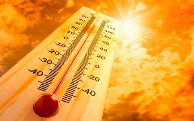 QUE CALOR! Até domingo, temperaturas devem permanecer altas em Vazante, Lagamar e Guarda-mor