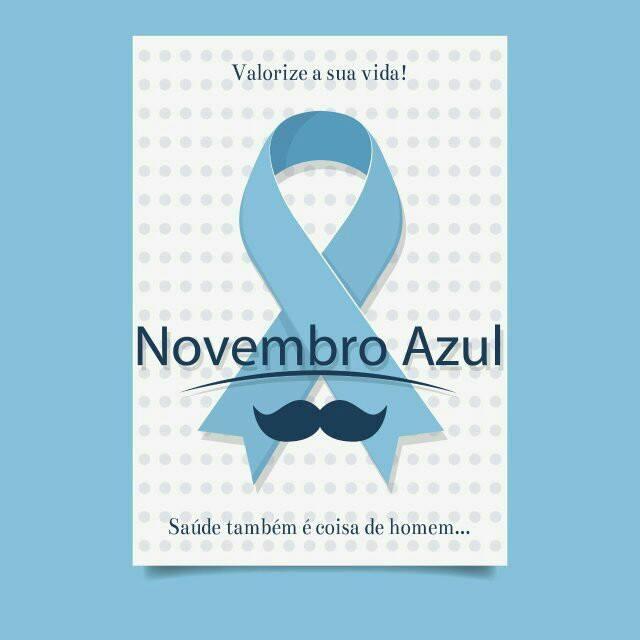 NOVEMBRO AZUL: Secretaria Municipal de Saúde realizará uma caminhada de conscientização nesta Sexta-feira em Vazante