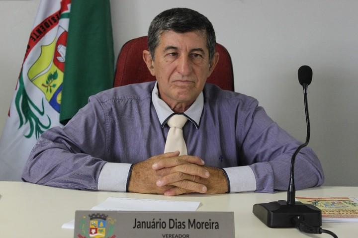 Vereador Januário Dentista é eleito presidente da Câmara de Presidente Olegário