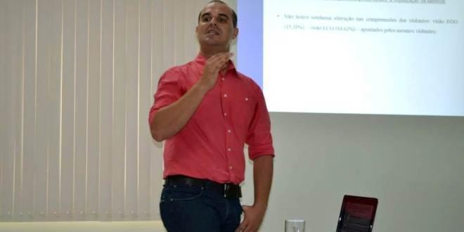 CONQUISTA: Andrei Severino agora é Mestre em Recursos Naturais