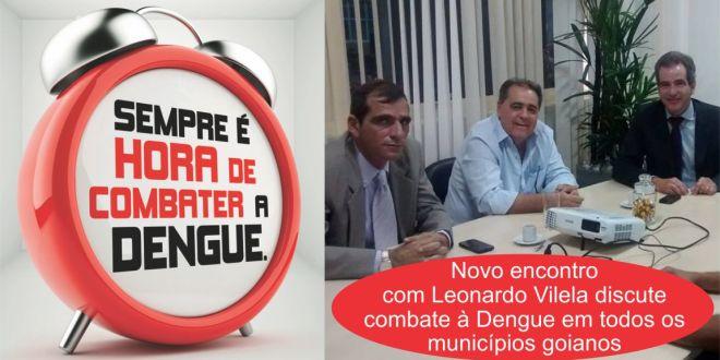 Prefeito Rogério Troncoso e Secretário André Luiz no combate à Dengue