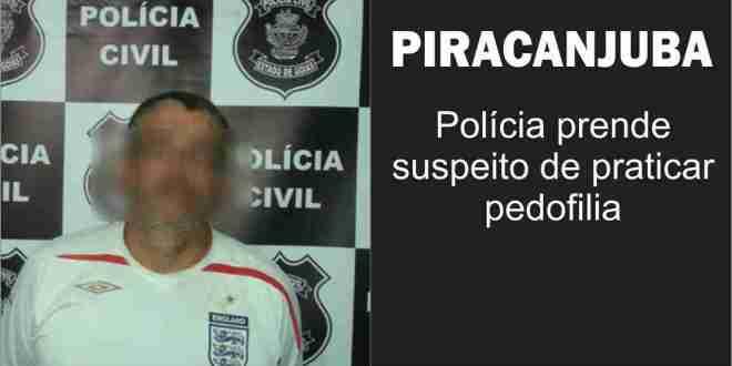PEDOFILIA: Suspeito detido com 200 fotos de menores seminuas no celular