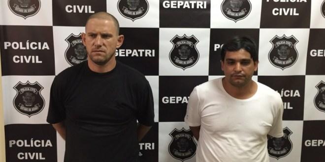 Itumbiara: Polícia Civil recupera carga roubada em Goiatuba. Dois são presos!