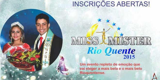 SUCESSO: Miss e Mister Rio Quente 2015… Evento chega à sua 15ª edição!