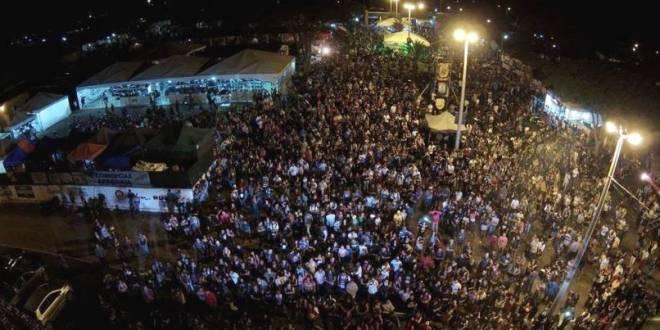 Milhares de pessoas compareceram ao encontro de motociclistas de Morrinhos