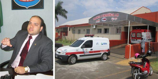 Delegado Gustavo Carlos apura morte de criança de 16 dias em Goiatuba