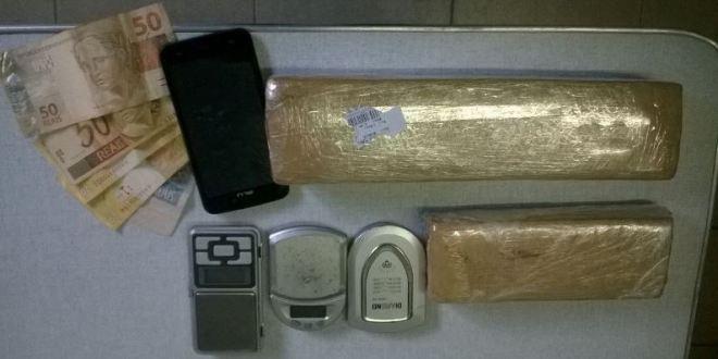 Policiais Militares da 10ª CIPM apreendem drogas e prendem 2 suspeitos