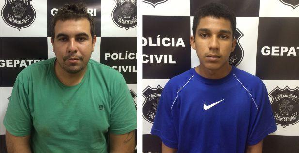 Moradores de Morrinhos são presos suspeitos de roubo em Itumbiara e Goiatuba