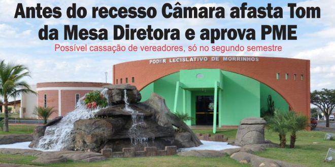 Comissão pode pedir abertura de processo de cassação de dois vereadores