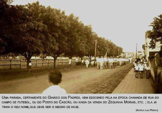 Parada ou Passeata