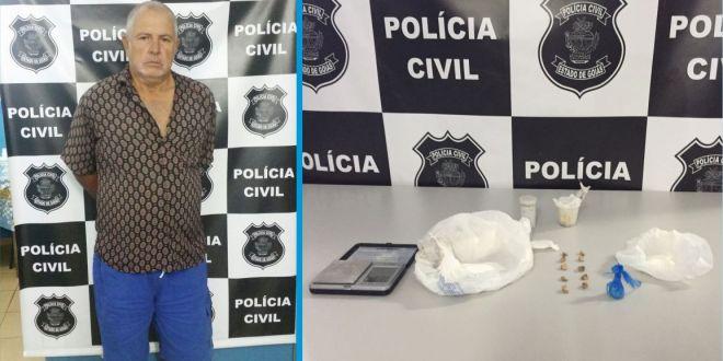 COMBATE AO TRÁFICO: Homem é preso suspeito de envolvimento com drogas