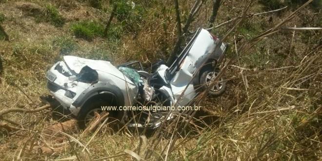 FATALIDADE: Jovem de Pontalina morre em acidente de carro na GO-040