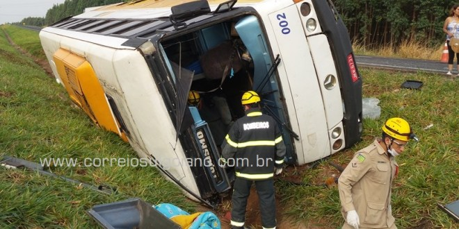 Mais um acidente na BR-153, em Morrinhos deixa vários feridos. Ninguém morreu