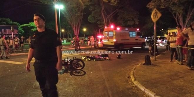 Moto x Moto: mais um acidente, e mais um motociclista morre em Morrinhos