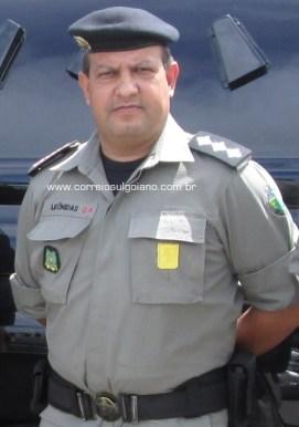Major Leonidas - Comandante da 10ª CIPM