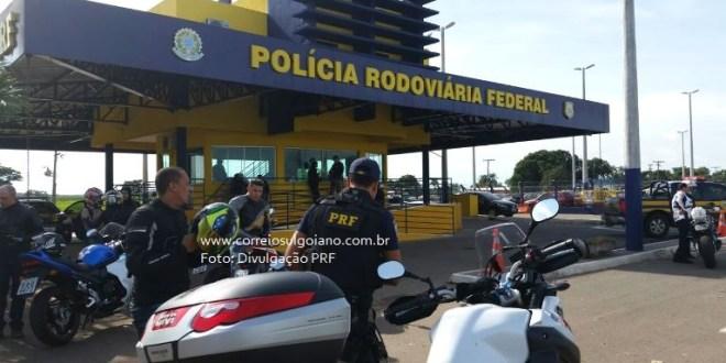 Operação Semana Santa da PRF tem mais viaturas e policiais nas rodovias BR-153 e BR-452 no sul goiano