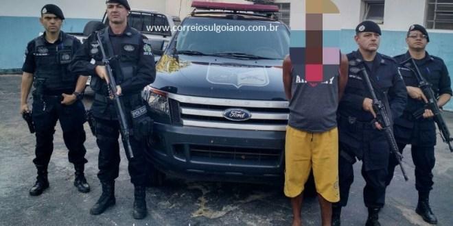 Policiais do COD cumprem mandado de prisão em aberto e detém foragido da Justiça em Corumbaíba