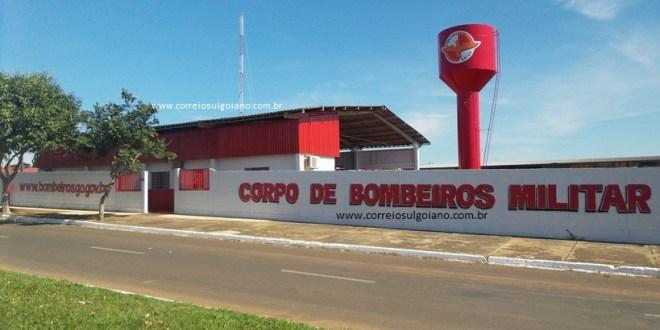 Corpo de Bombeiros tem mais um final de semana com grande movimentação e trabalho, em Morrinhos!!!