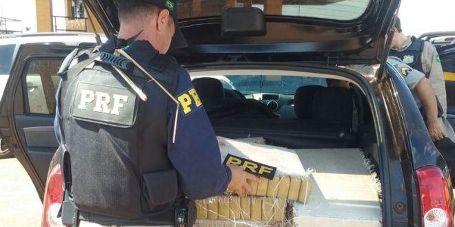 Polícia Rodoviária Federal apreende meia tonelda de maconha em Goiás