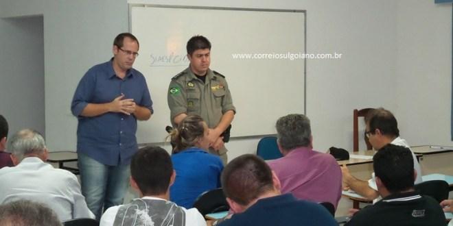 Empresários se reúnem com polícias pedindo mais segurança! Veja números de criminalidade em Morrinhos…