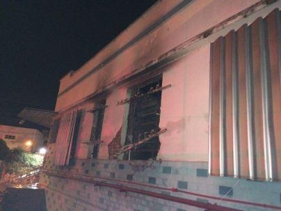 Incêndio no Colégio Ressurreição Diocesano em Itumbiara