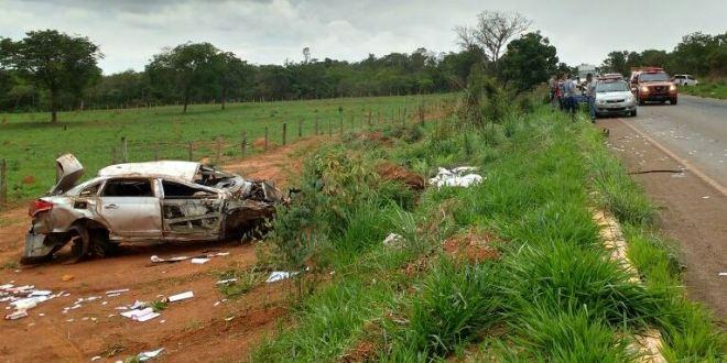 Rodovias Goianas: Acidente e morte na GO-139 entre Caldas Novas e Marzagão!!!