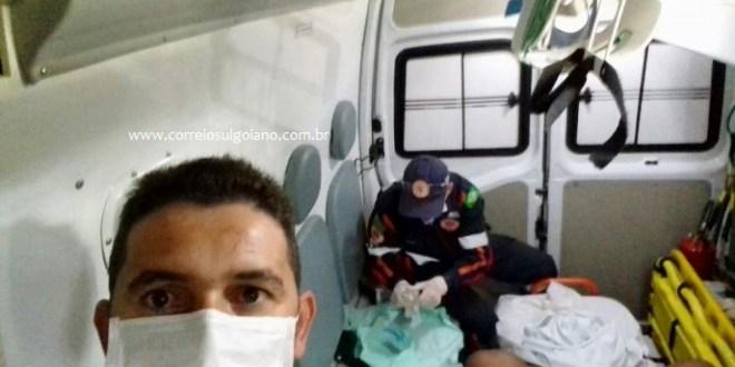 SAMU realiza parto de emergência na casa da gestante em Morrinhos. Uma menina nasceu!