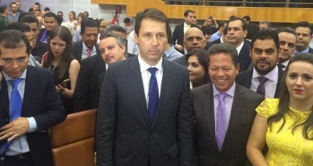 Andrey Azeredo é o novo presidente da Câmara de vereadores de Goiânia