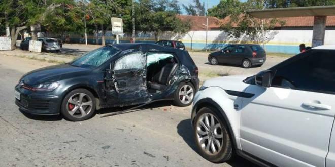 Filho de Fátima Bernardes e Willian Bonner passa bem após acidente de trânsito no Rio de Janeiro