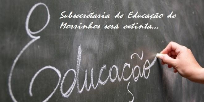 Subsecretaria de Educação de Morrinhos será extinta. Cidade ficará jurisdicionada em Itumbiara!