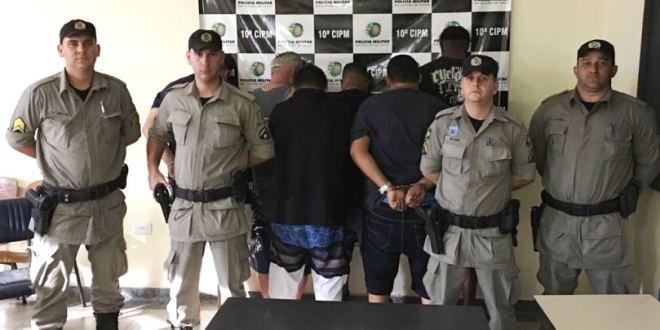 Polícia Militar prende suspeitos de furtar óleo no oleoduto da Petrobras em Morrinhos