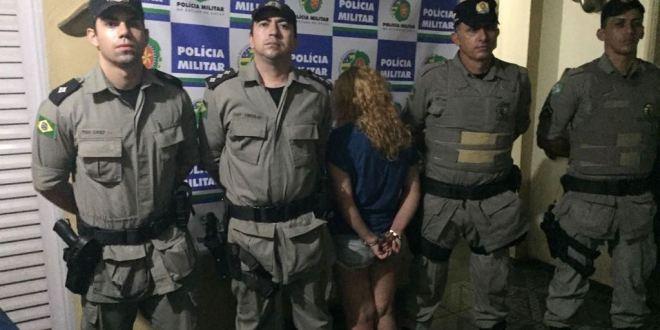 Polícia Militar Rodoviária prende casal suspeito de roubar passageiros dentro de ônibus na rodovia GO-213
