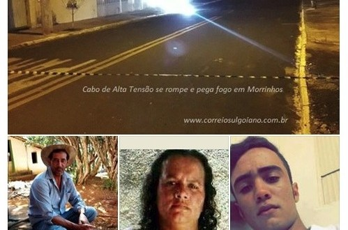 TRAGÉDIA!!! Em dois dias, três pessoas morreram vítimas de choque elétrico em Morrinhos e Goiatuba