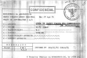 Objeto voador não identificado cai em represa do meio rural em Morrinhos! Veja matéria sobre o fato