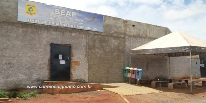 Agentes de Segurança Prisional descobrem grade serrada e evitam ação de fuga no presídio de Morrinhos