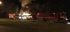Policiais Militares retiram homem de casa em chamas e evitam tragédia em Morrinhos
