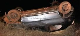 Carro x Caminhão: Acidente na GO-419 deixa 03 pessoas de Morrinhos feridas! Todos passam bem…