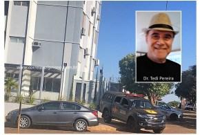 Morreu o Dr. Tedi Pereira! Oftalmologista foi encontrado com tiro na cabeça no apartamento onde morava, em Goiatuba